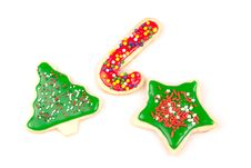 Free A Wide Variety Of Christmas Cookies Stock Images - 17510904