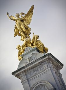 Victoria Monument Royalty Free Stock Image