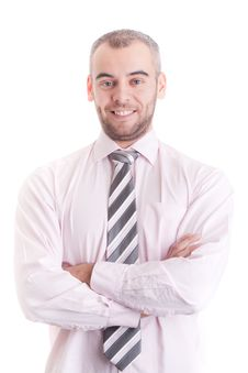 Free Portrait Of Happy Smiling Businessman Stock Photography - 17512272