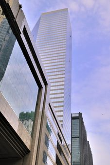Free Modern Buildings Under Blue Sky Royalty Free Stock Image - 17512686