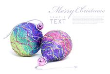 Free Isolated Shiny Pink Christmas Ball Stock Photo - 17513050