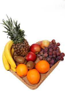 Free Fruit Basket Royalty Free Stock Images - 17513449