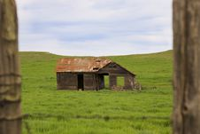 Old Abandoned Farmhouse Royalty Free Stock Images