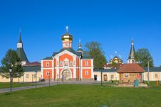 Free Iversky Monastery Stock Photography - 17514362