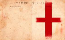Free Old Vintage Grunge Postcard England Flag Stock Photography - 17514712