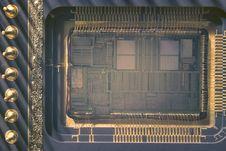 Free Microprocessor Crystal Stock Photos - 17514763