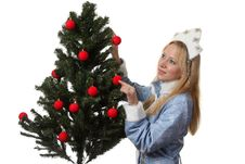 Free Snow Maiden Stock Image - 17515051