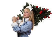 Free Snow Maiden Stock Photos - 17515053