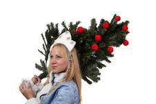 Free Snow Maiden Royalty Free Stock Photography - 17515057