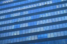 Free Blue Office Windows Stock Photography - 17515202