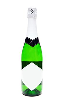 Free Bottle Of Champagne Royalty Free Stock Photos - 17515228