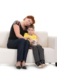 Free Mother And Son Royalty Free Stock Photos - 17515488