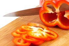 Free Sliced Paprika Stock Image - 17517541