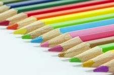 Free Colored Pencils Royalty Free Stock Image - 17517626