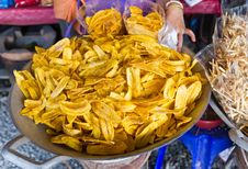 Free Banana Chip Stock Image - 17517671