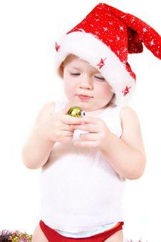 Free Boy Santa Claus Stock Images - 17518104