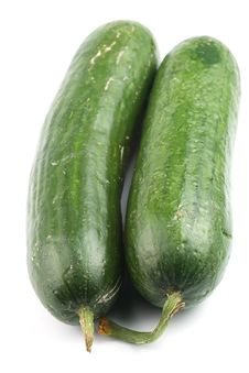 Free Two Cucumbers Stock Photos - 17518463