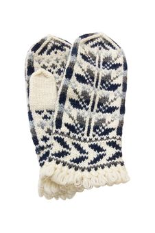 Free Winter Knitted Mittens Stock Photo - 17518480