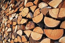 Free Firewood Royalty Free Stock Images - 17519129