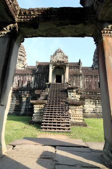 Free Angkor Wat Royalty Free Stock Photography - 17519257