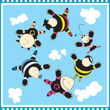 Free Six Child Royalty Free Stock Photo - 17519595