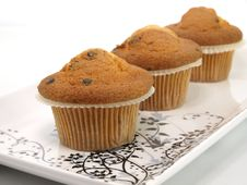 Free Fresh Baked Muffins Stock Photos - 17519693