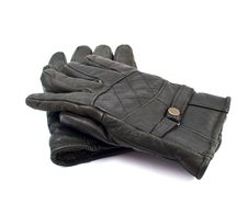 Free Black Leather Gloves Stock Photo - 17519700