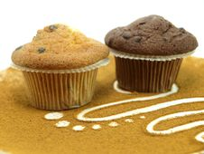 Free Fresh Baked Muffins Royalty Free Stock Images - 17519889
