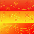 Free Winter Banners Royalty Free Stock Photography - 17520537