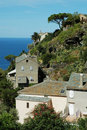 Free Nonza Village With Sea View. Corsica Royalty Free Stock Images - 17526729