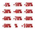 Free Percent Icon Stock Photo - 17527910
