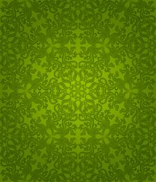 Free Seamless Floral Pattern Stock Photo - 17520410