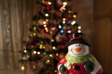 Free Santa Claus And A Christmas Tree Stock Photo - 17521070