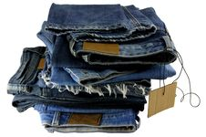 Free Blue Jeans Stock Image - 17521191