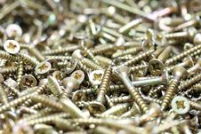 Free Wood Screws Stock Photo - 17521460