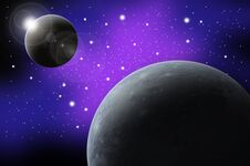 Free Abstract Planet And Star Stock Photography - 17524812