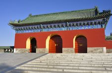 Free Beijing Forbidden City Royalty Free Stock Photography - 17524837
