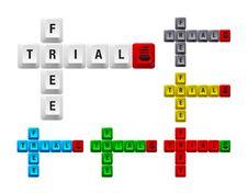 Free Free Trial Key Stock Photo - 17525000