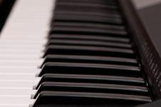 Free Piano Keys Royalty Free Stock Photos - 17525588