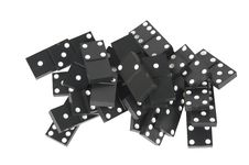 Free Black Dominoes Stock Images - 17526404