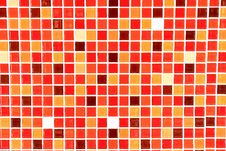 Free Glass Mosaic Texture Background Royalty Free Stock Images - 17527079