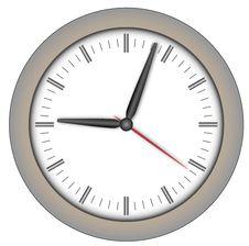 Free Steel Clock Stock Photos - 17527853