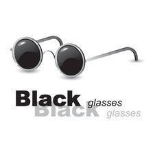 Free Black Glasses Stock Photo - 17528180
