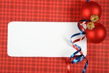 Free Christmas Card Stock Image - 17529321