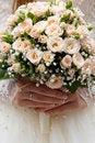 Free Bride Holding Wedding Bouquet Stock Photo - 17532510
