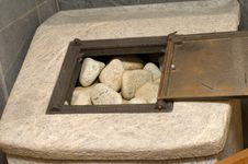 Free Sauna. Stock Images - 17530384