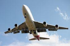 Free Passenger Airplane Royalty Free Stock Photo - 17530825