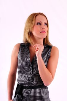 Free Beautiful Businesswoman Royalty Free Stock Image - 17530836