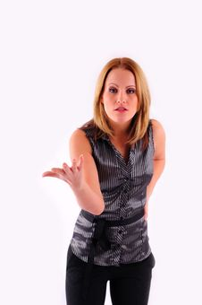 Free Beautiful Businesswoman Stock Photography - 17530872