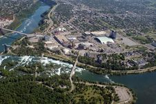 Free Niagara From The Air Stock Images - 17531744